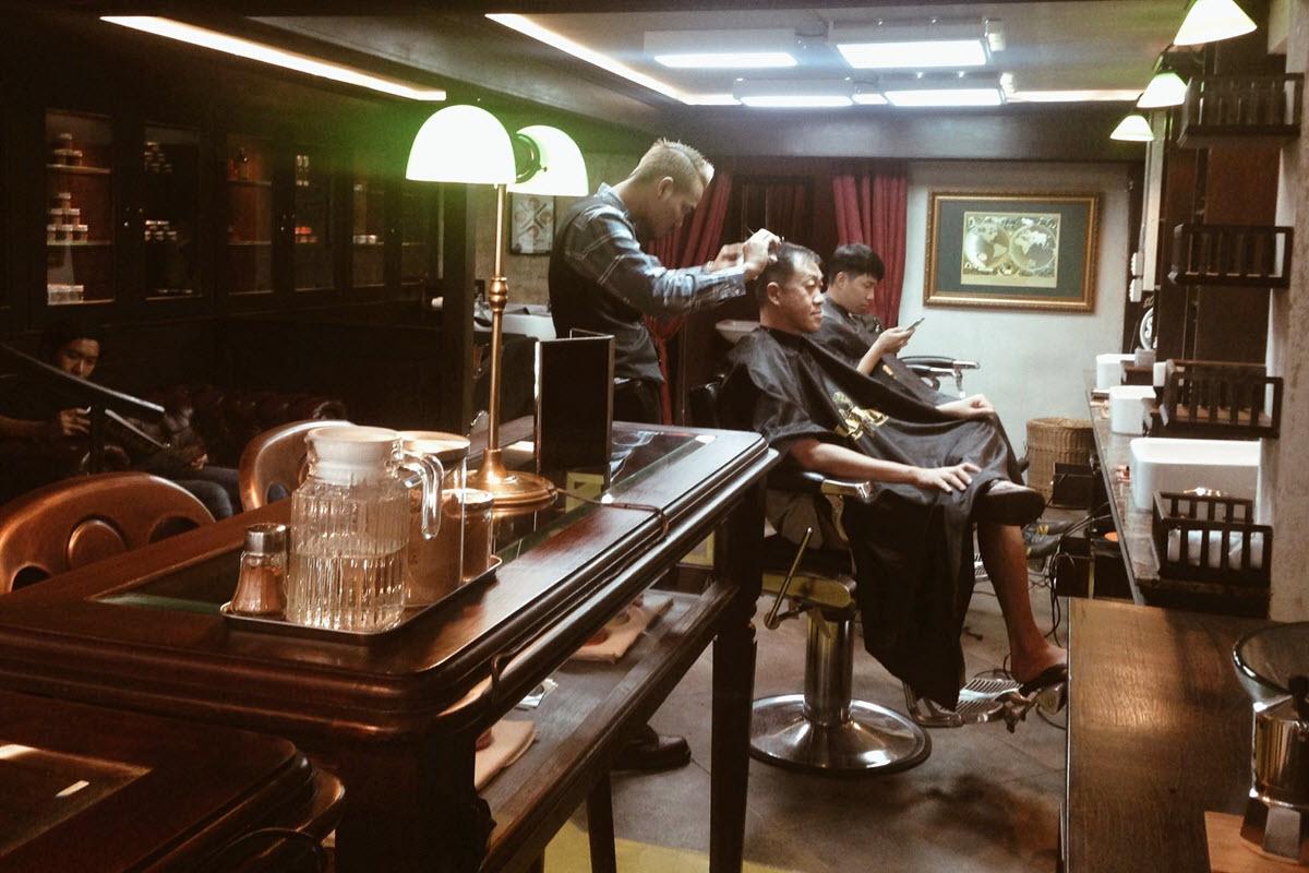 Black Amber ร้านตัดผมชาย ในกรุงเทพ