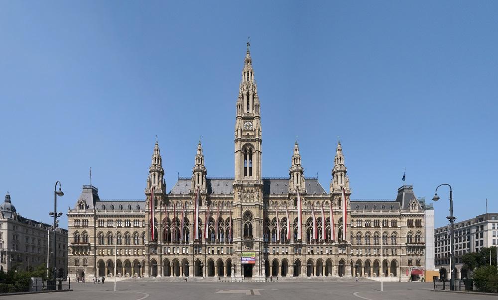 City Hall Vienna ศาลาว่าการกรุงเวียนนา