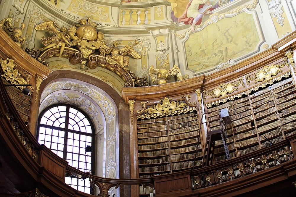 Austrian National Library หอสมุดแห่งชาติออสเตรีย