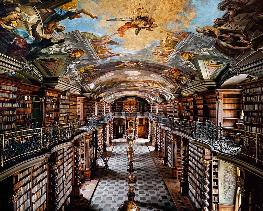 The Clementinum หอสมุดแห่งชาติ กรุงปราก