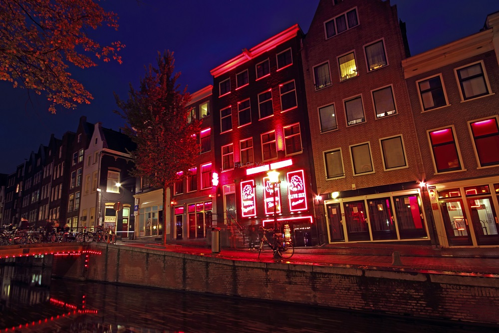 Red Light District ย่านโคมแดง