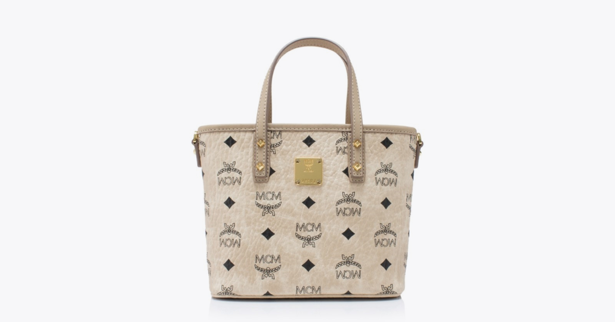 Mini Anya Top Zip Shopper MCM