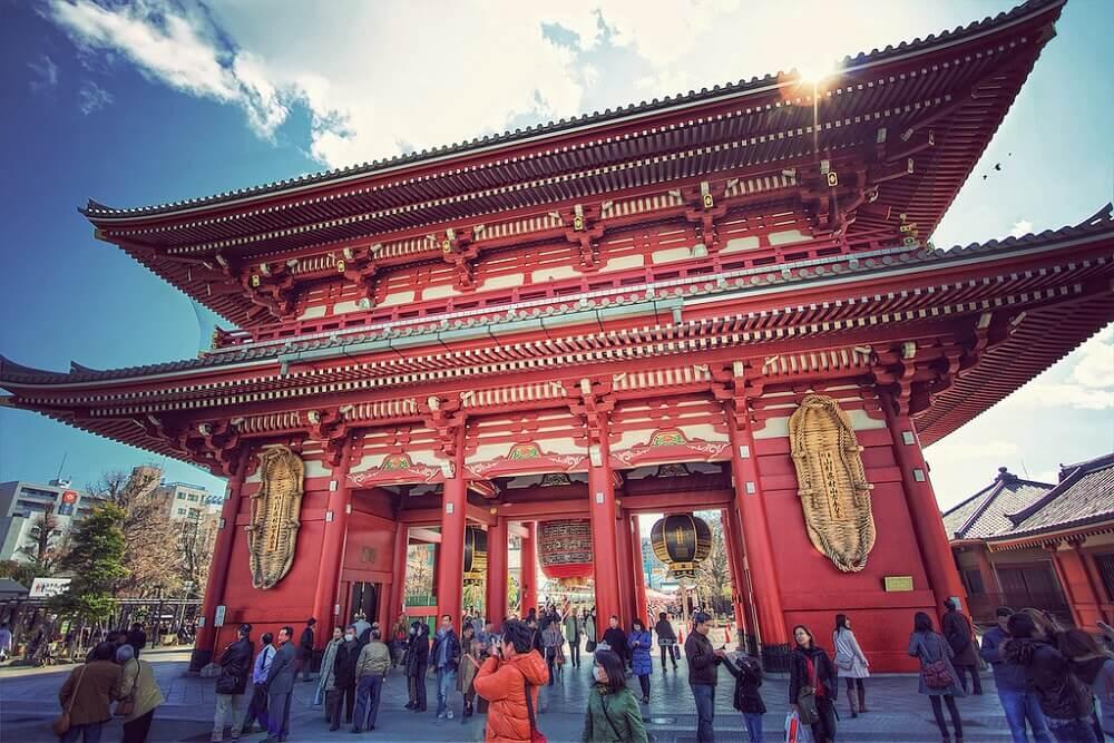 วัดอาสะกุสะ (Asakusa Kannon Temple)