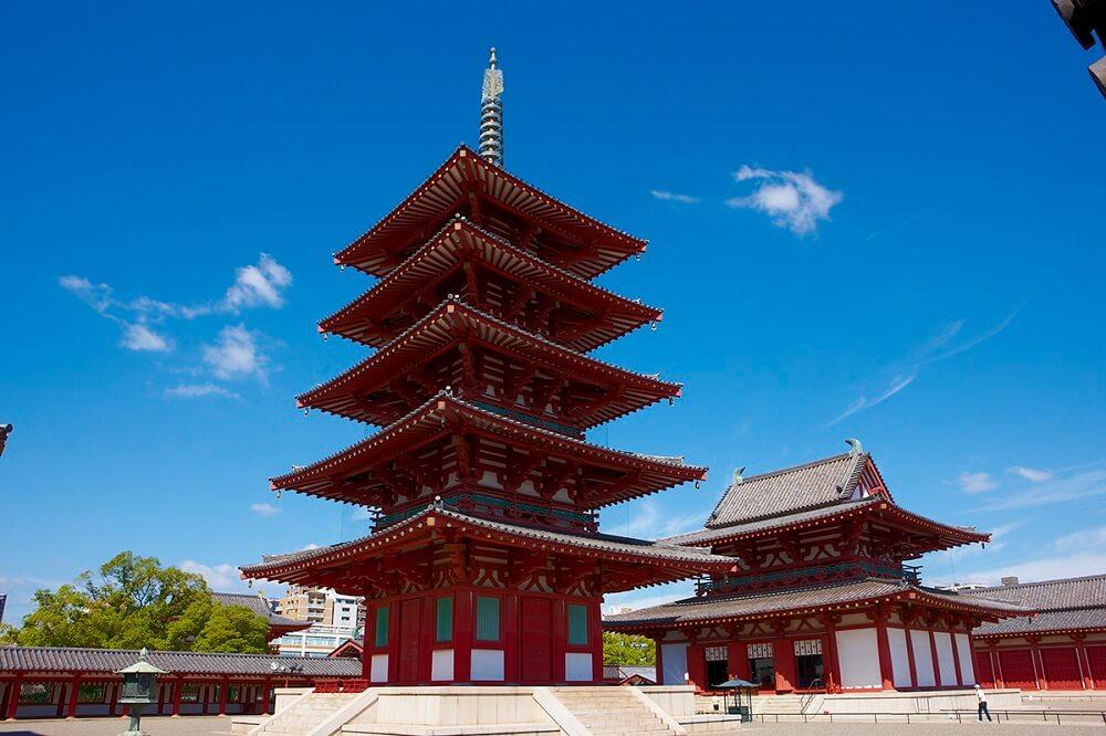 วัดชิเทนโนจิ (Shitennoji Temple)
