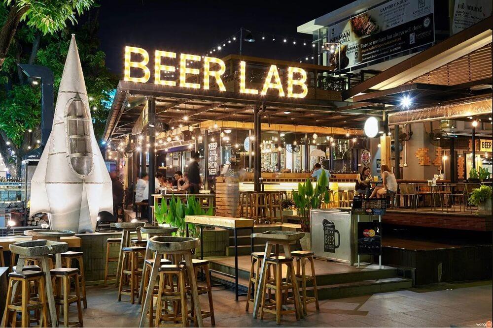 เที่ยวเชียงใหม่ ร้านนั่งชิล เชียงใหม่ : Beer Lab