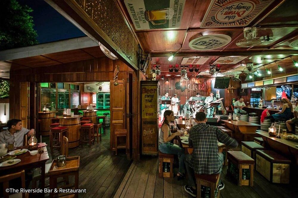 เที่ยวเชียงใหม่ ร้านนั่งชิล เชียงใหม่ : Riverside Bar & Restaurant