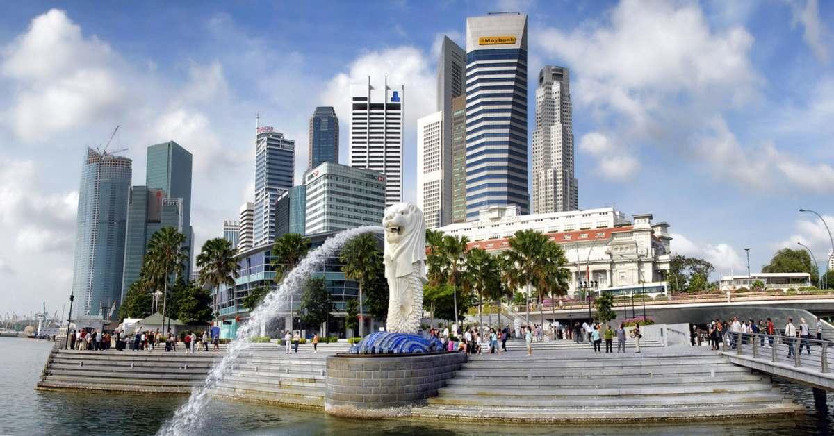 น้ำพุแห่งความมั่งคั่ง ที่เที่ยว สิงคโปร์