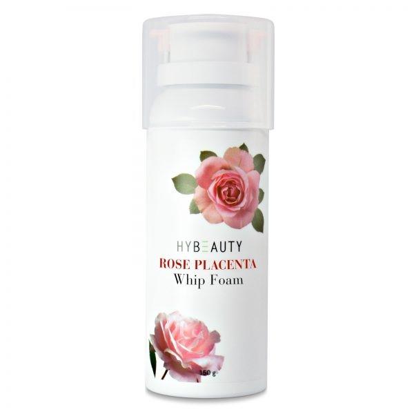 โฟมล้างหน้านุ่ม Hybeauty Rose Placenta Whip Foam
