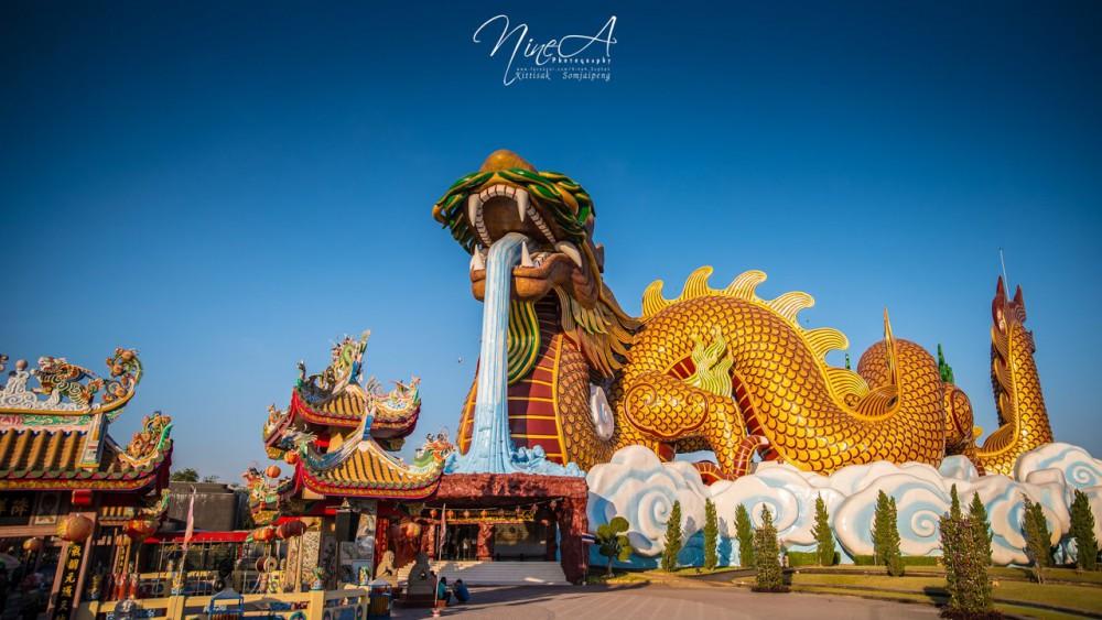 อุทยานมังกรสวรรค์ สุพรรณบุรี ที่เที่ยวใกล้กรุงเทพ ไม่เช้าเย็นกลับ เที่ยวใกล้กรุงเทพ 1 วัน