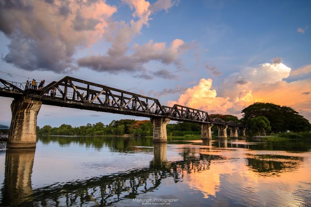 ที่เที่ยวใกล้กรุงเทพ ไปเช้าเย็นกลับ ทางรถไฟสายมรณะ สะพานข้ามแม่น้ำแคว กาญจนบุรี