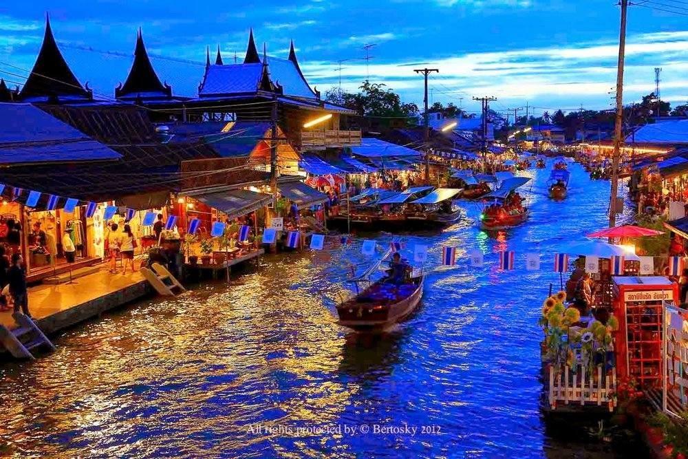 ที่เที่ยวใกล้กรุงเทพ ไปเช้าเย็นกลับ ตลาดน้ำดำเนินสะดวก ราชบุรี เที่ยวใกล้กรุงเทพ 1 วัน ไม่มีรถ Pantip