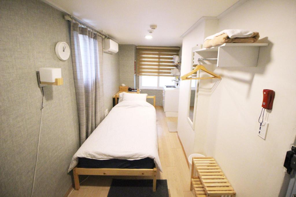 ฮงแด ที่พัก ราคาถูก Seoul Mansion Guesthouse