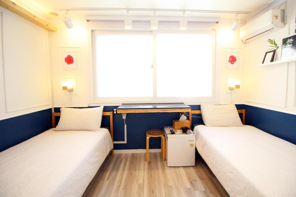 ฮงแด ที่พัก ใกล้รถไฟฟ้า Seoul Mansion Guesthouse