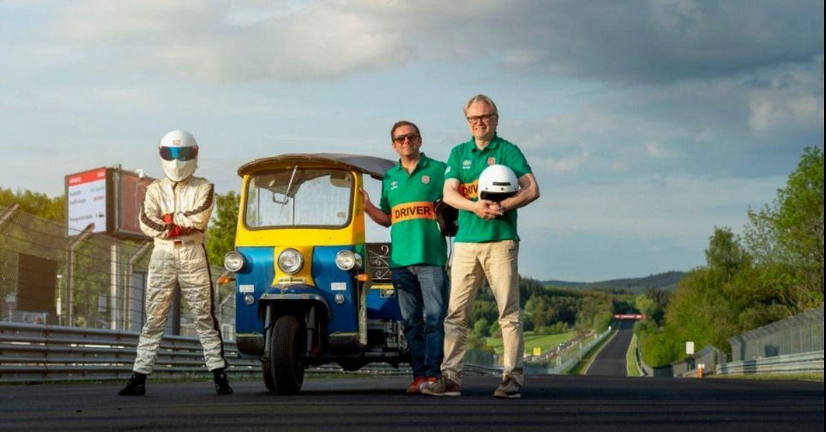 """[PR NEWS] """"ตุ๊กตุ๊ก"""" ไทยแลนด์ ดังไกลสร้างสถิติบนสนาม Nurburgring"""