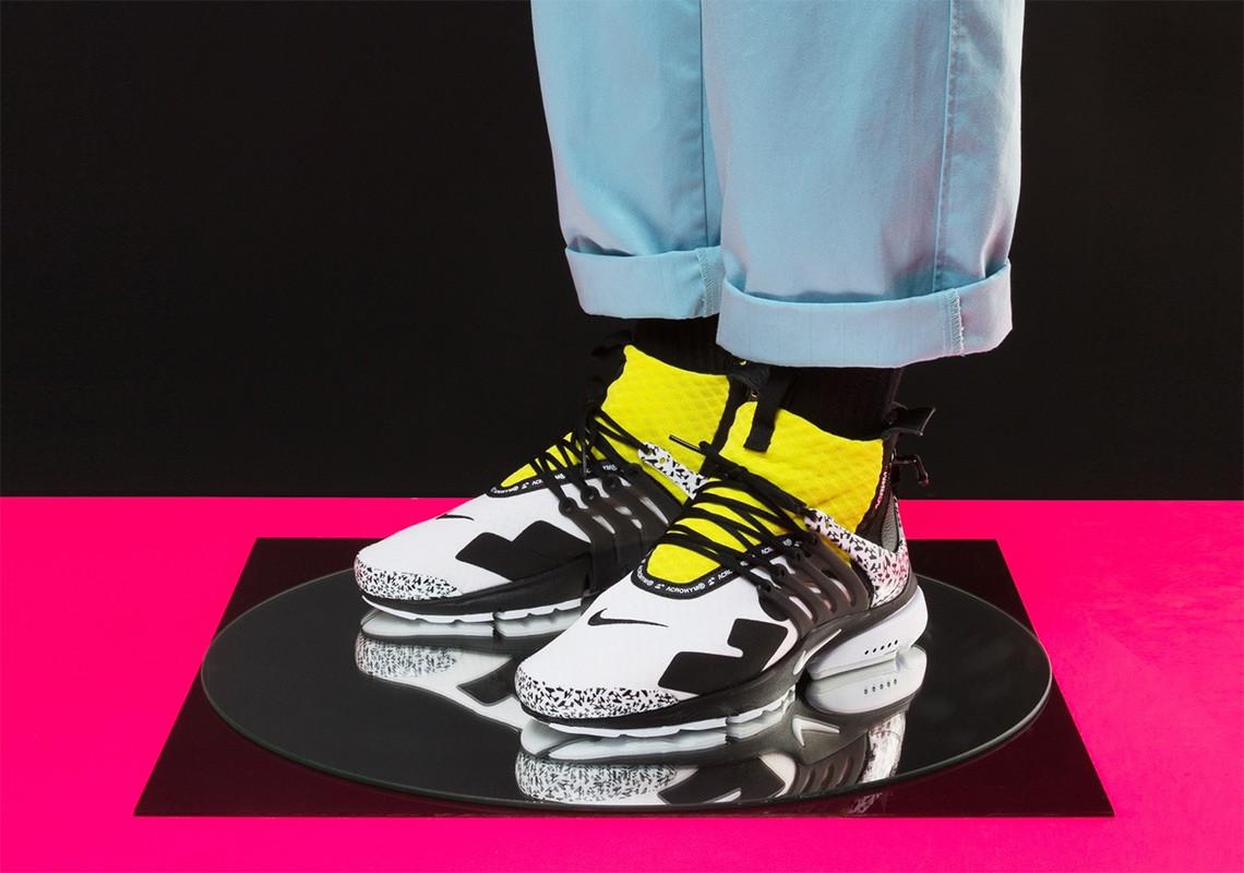 Nike Air Presto Mid SP x Acronym | โค้ด ส่วนลด Nike