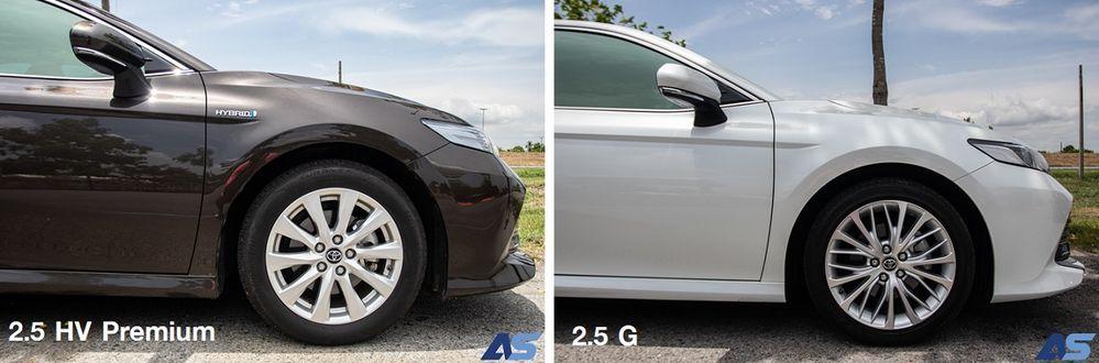 2.5 Hybrid VS 2.5 G